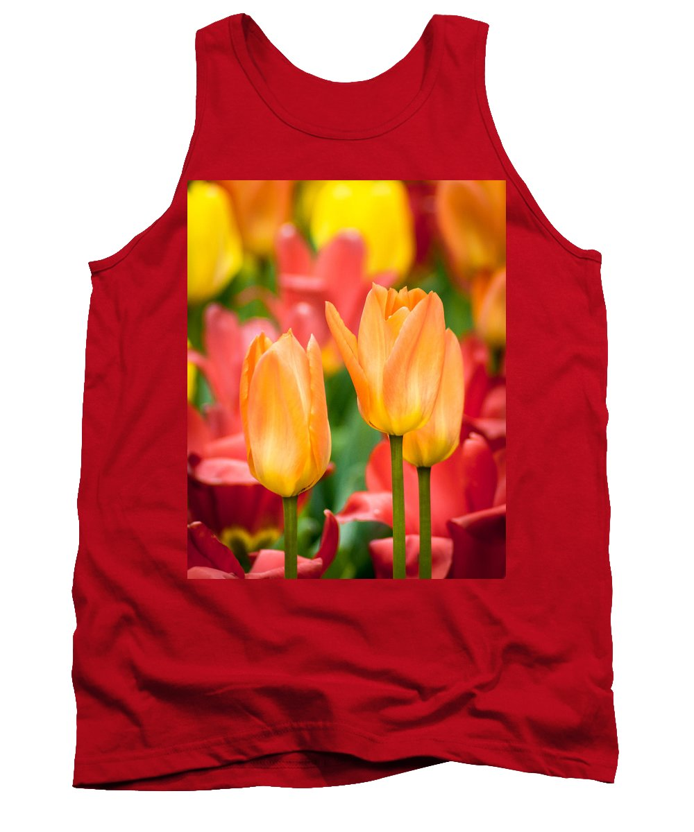 Flowers Tank Top featuring the photograph Just Peachy by Bill Pevlor