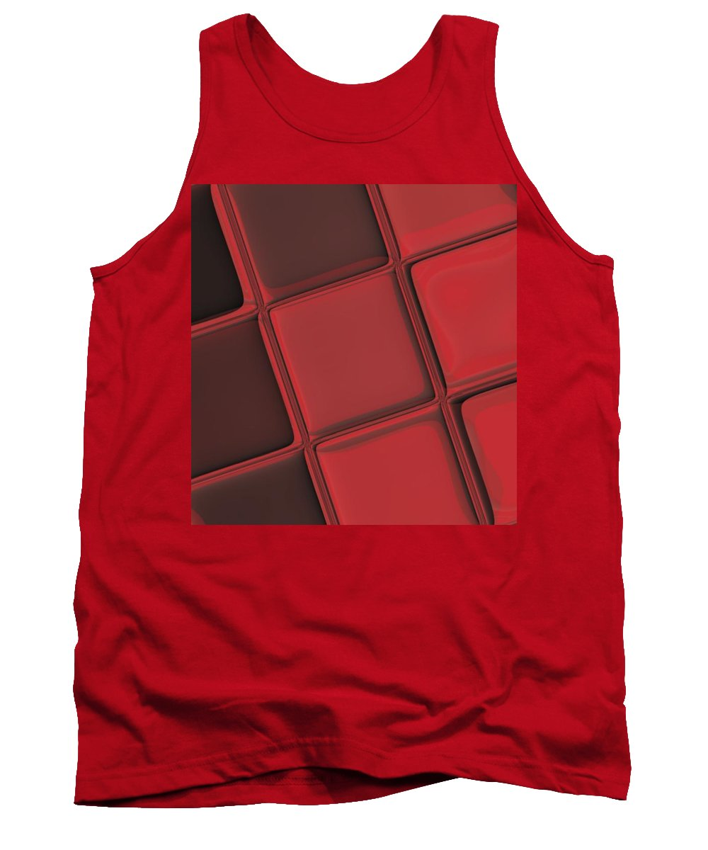Keyboard Tank Top featuring the digital art Keyboard Exposure by Pharris Art