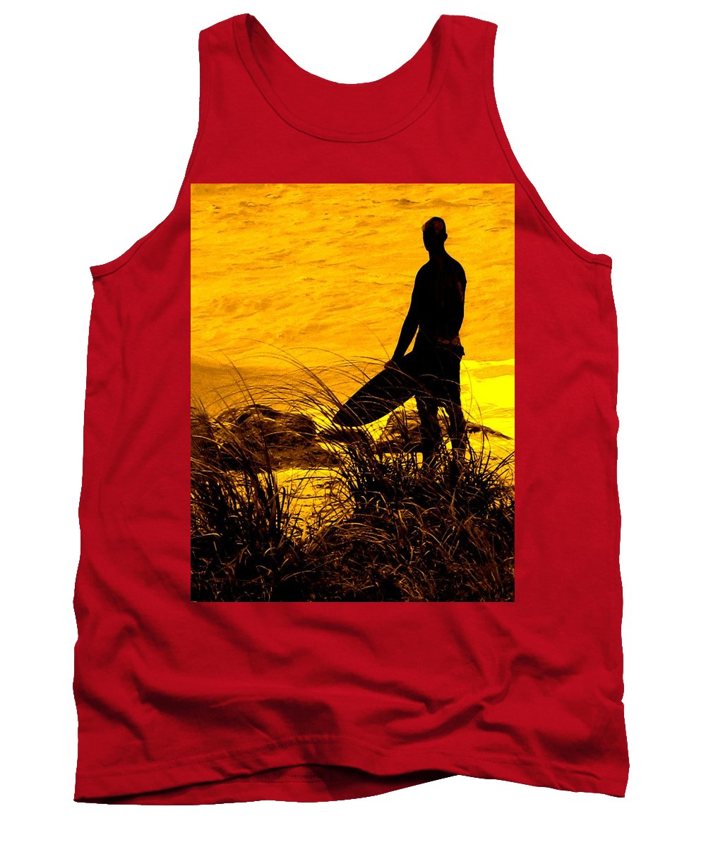 Florida Tank Top featuring the photograph Last Surfer Standing by Ian MacDonald