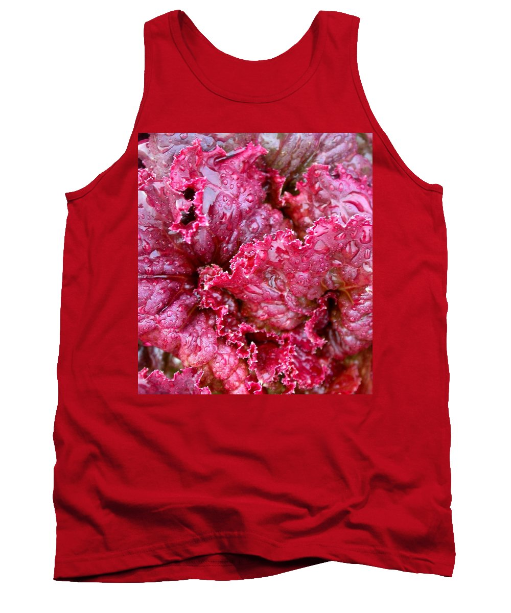 Tank Top featuring the photograph Lettuce by Cynthia Wallentine