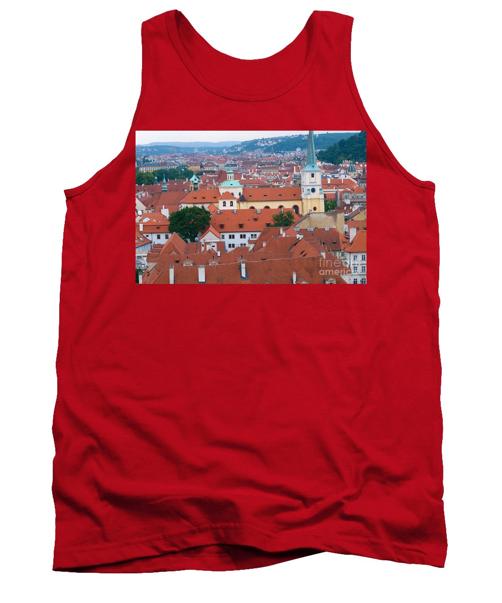 Mala Tank Top featuring the photograph Mala Strana In Prague by Michal Bednarek