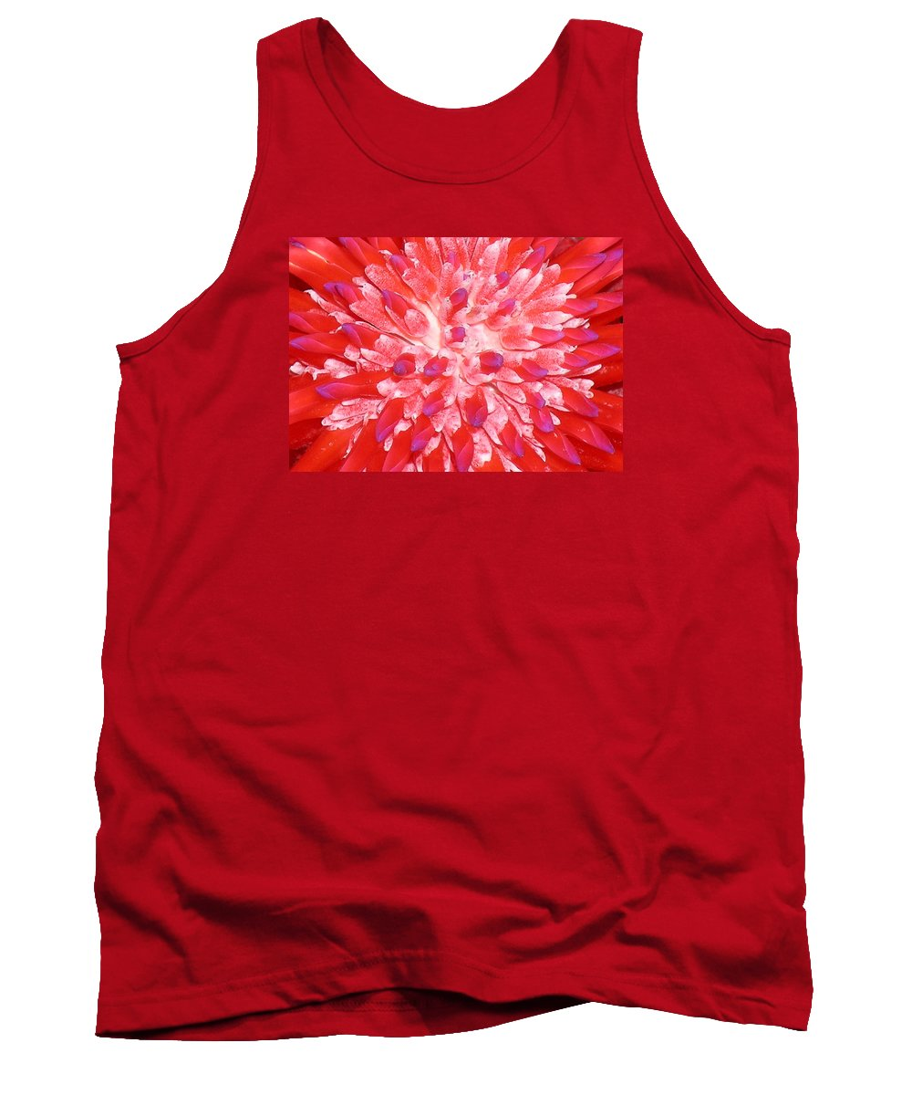 Hawaii Iphone Cases Tank Top featuring the photograph Molokai Bromeliad by James Temple