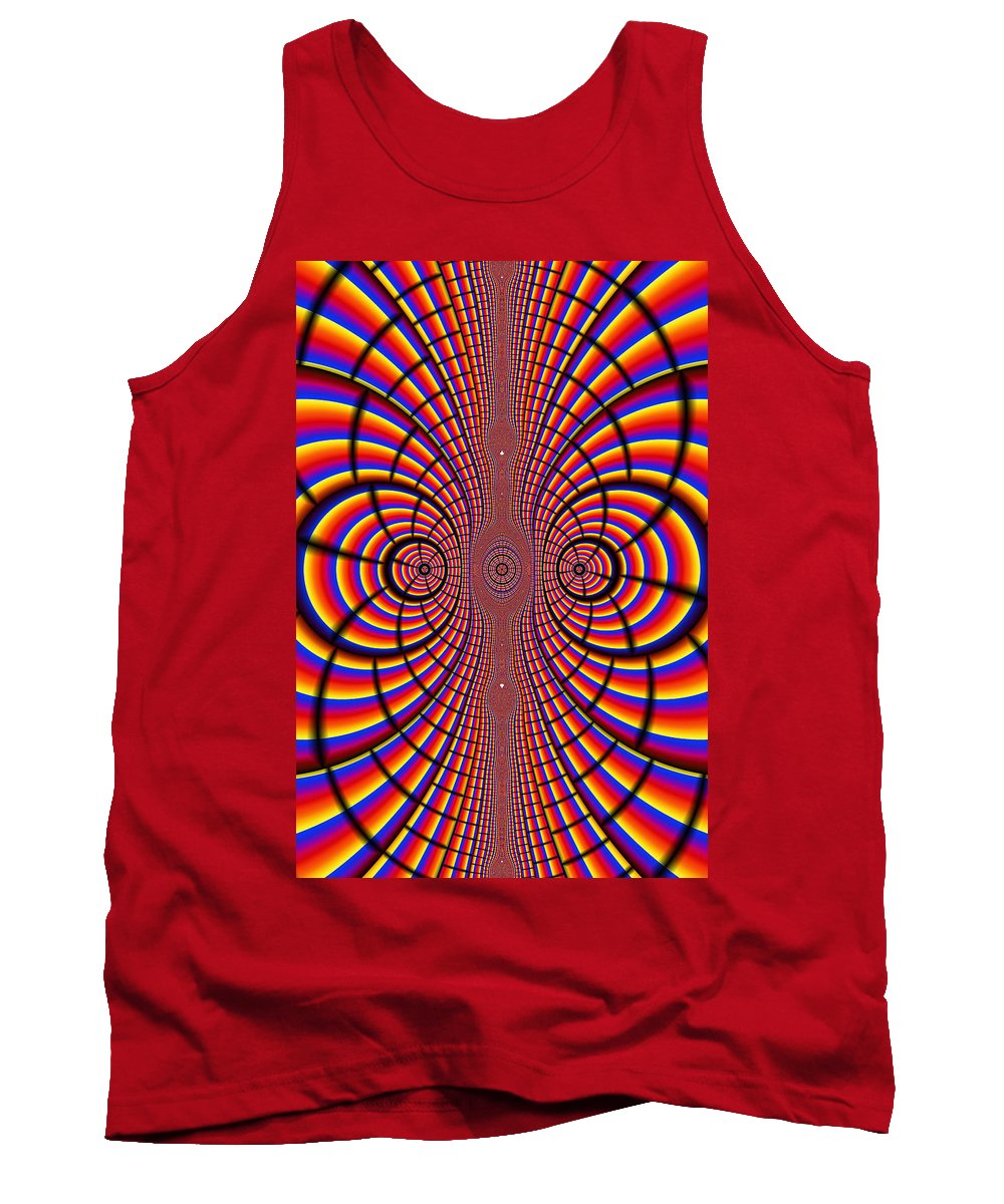Abstract Tank Top featuring the photograph Multicolored Abstract by Paul Sale Vern Hoffman