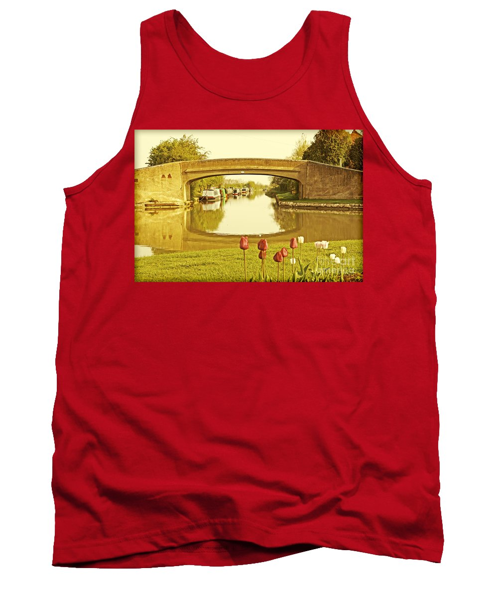 Canals Tank Top featuring the photograph Napton Junction by Linsey Williams