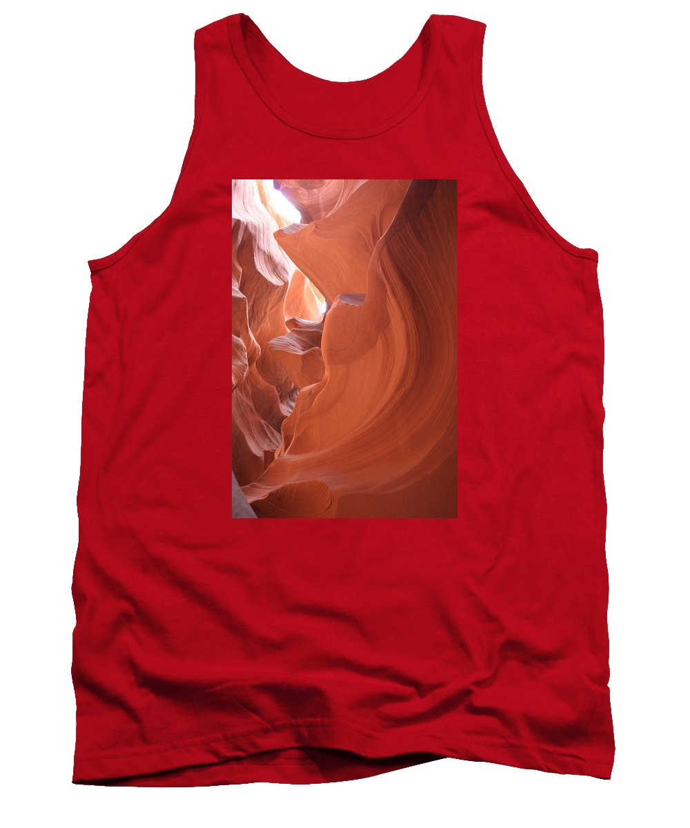 Canyon Tank Top featuring the photograph Narrow Canyon Xi by Christiane Schulze Art And Photography