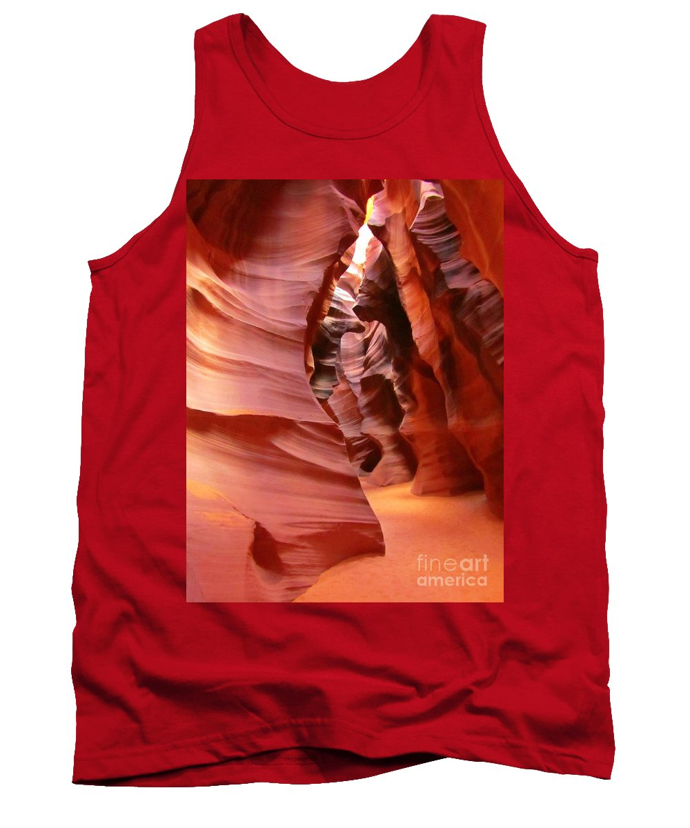 Natures Art Tank Top featuring the photograph Natures Art by John Malone