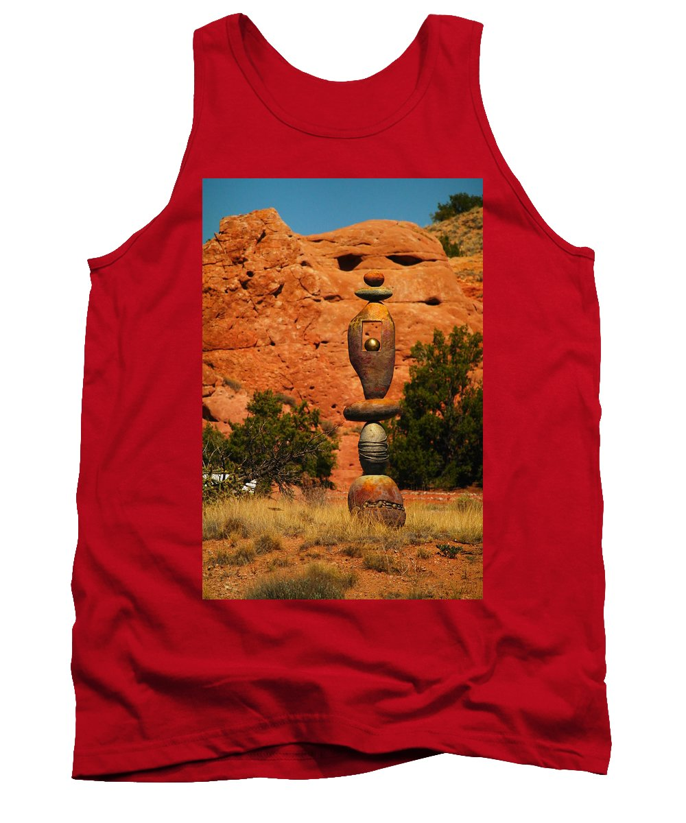 Rocks Tank Top featuring the photograph New Mexico Art by Jeff Swan