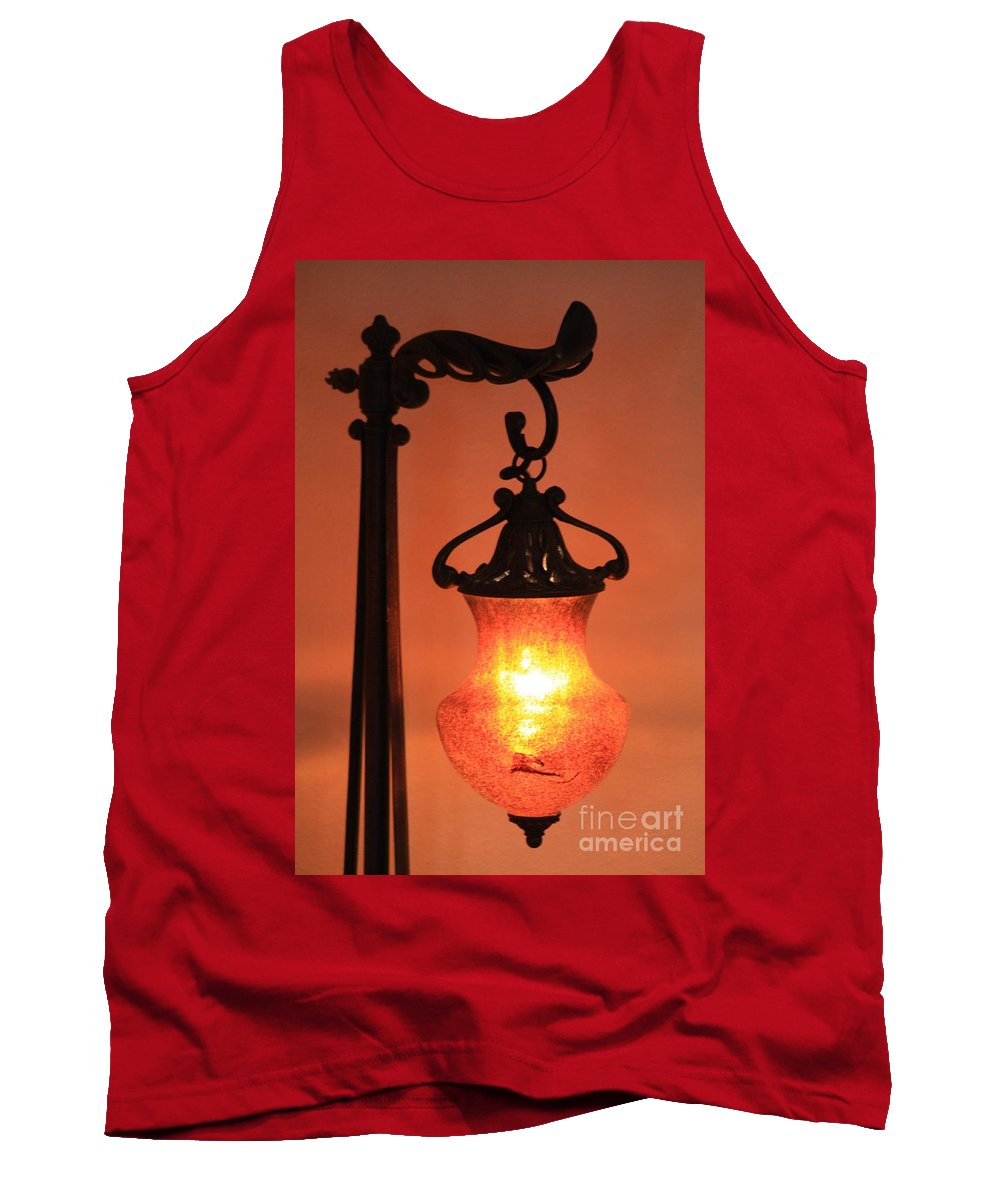 Evening Tank Top featuring the photograph Night by Brandi Maher