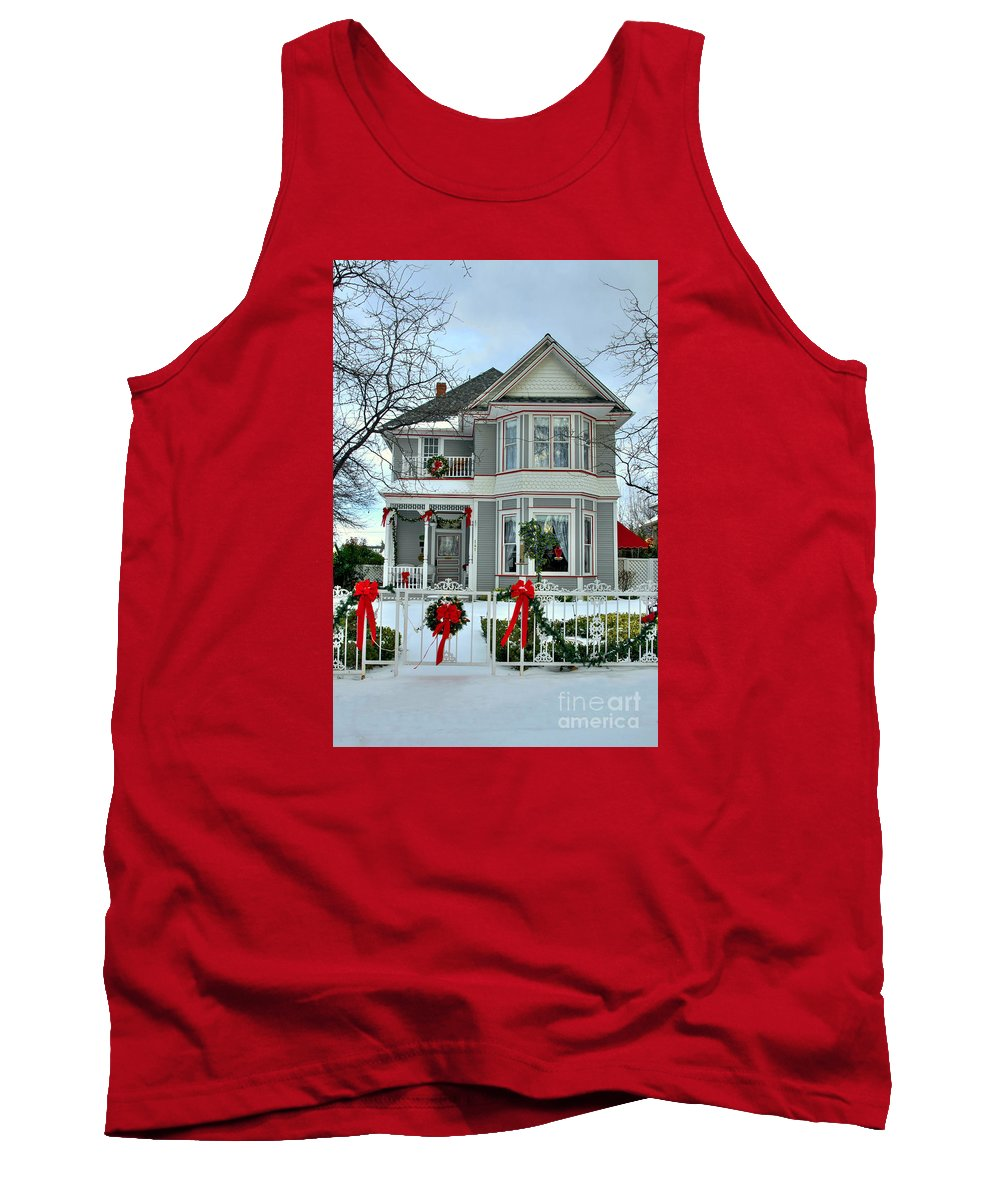 Diana Graves Photography Tank Top featuring the photograph Old Fashioned Christmas by K D Graves