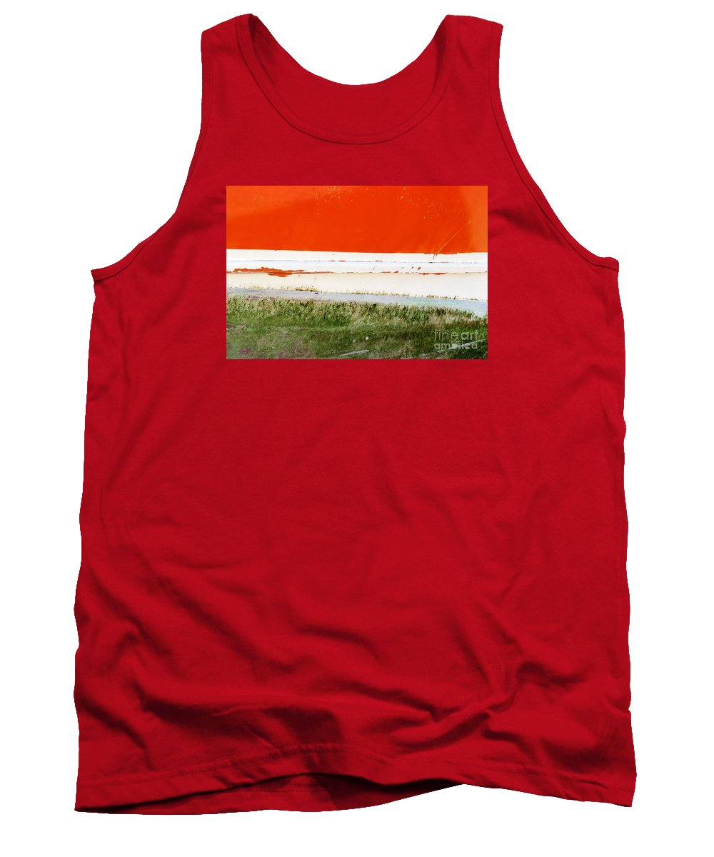 Photography Tank Top featuring the photograph On The Hull by Wendy Wilton