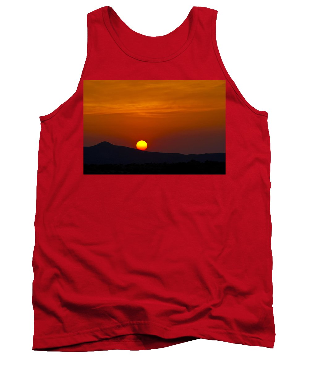 Sunrise Tank Top featuring the photograph Orange Sunrise by Patrick Moore