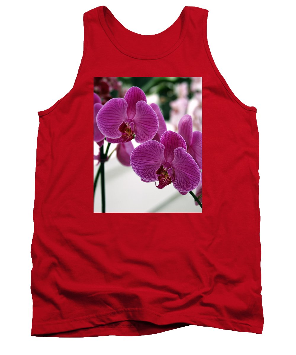 Desert Orchids Tank Top featuring the photograph Royal Orchids by William Dey