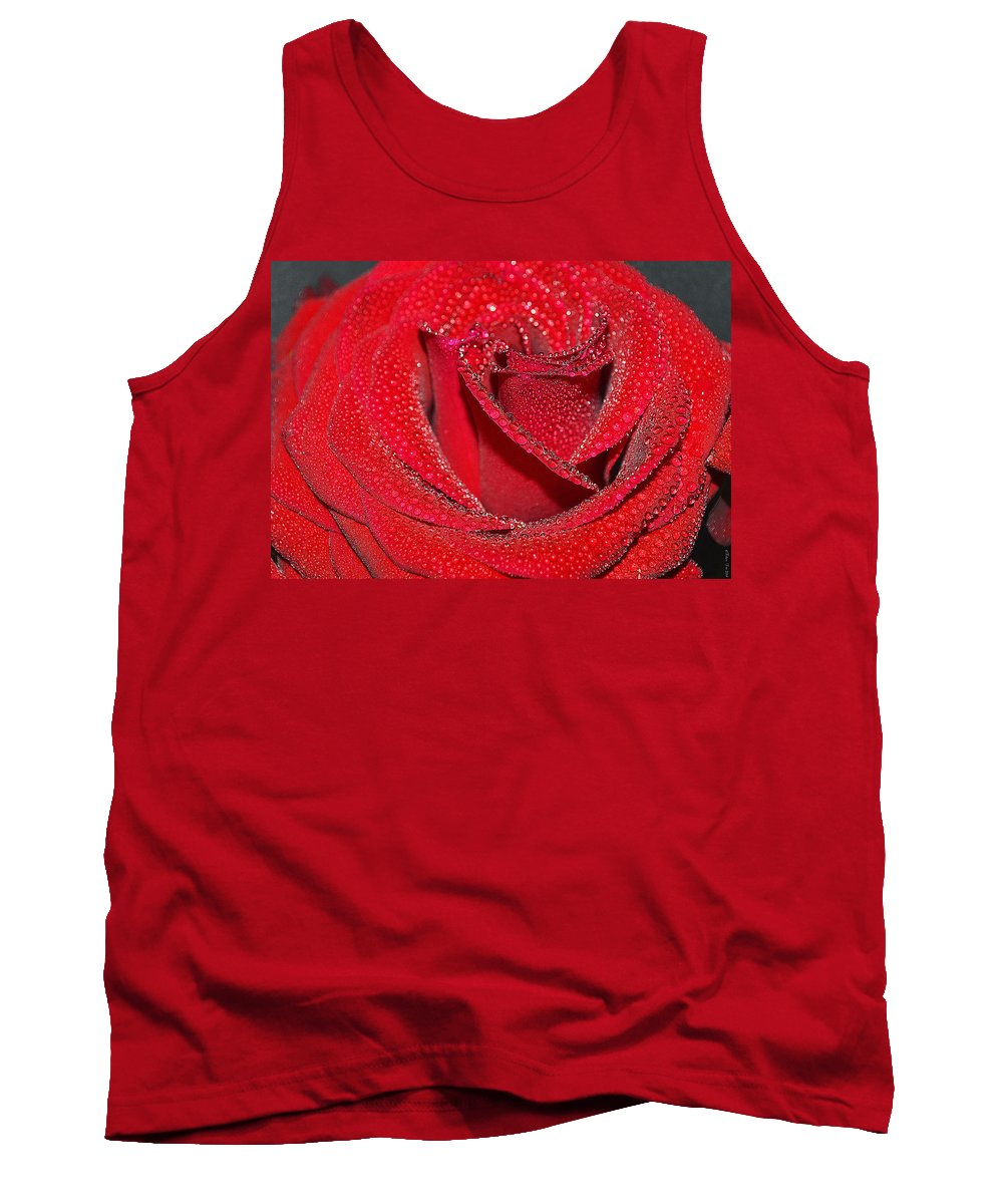 Rose Tank Top featuring the photograph Relevance Of Love by Felicia Tica