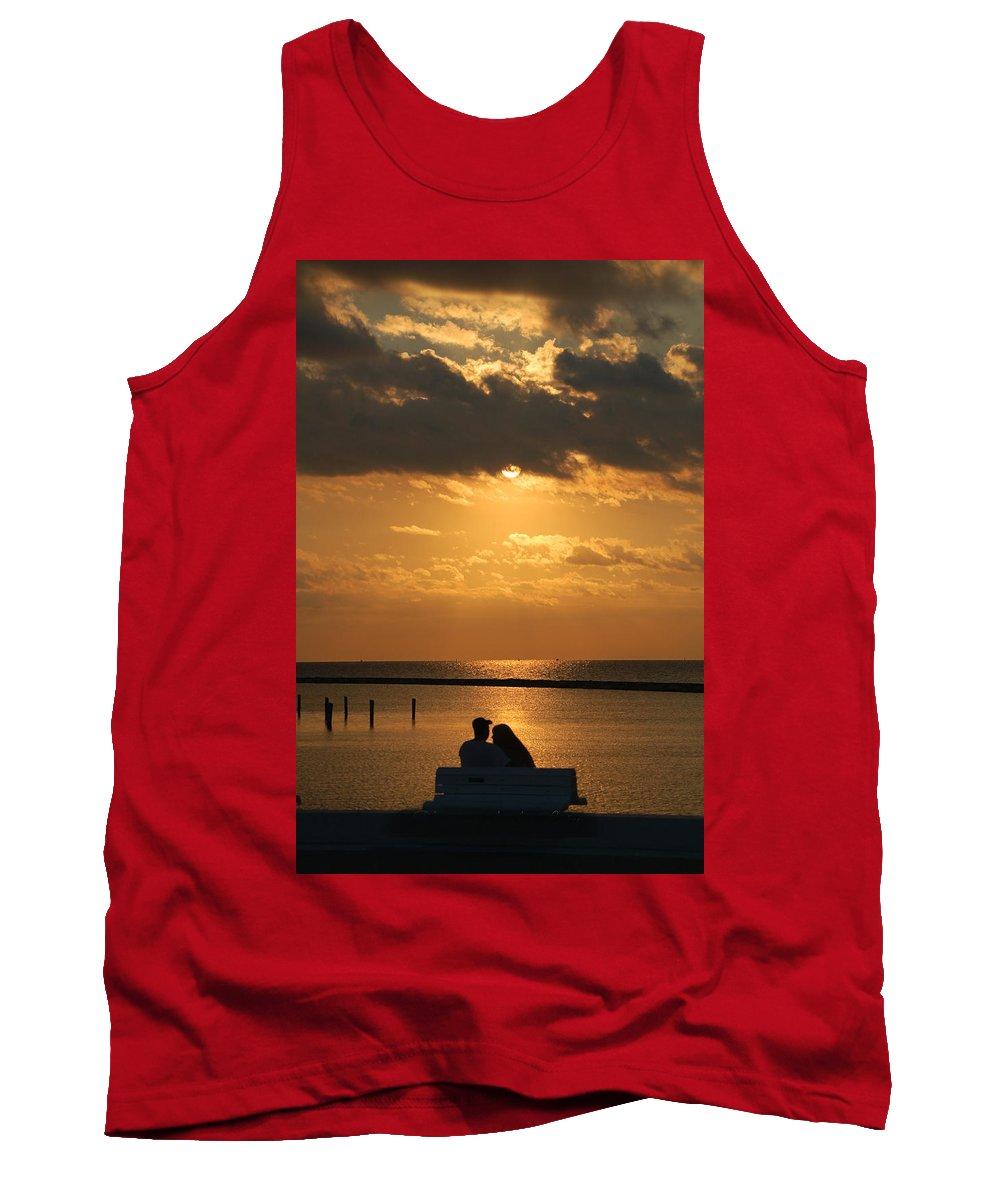 Romance Tank Top featuring the photograph Romantic Sunrise by Leticia Latocki