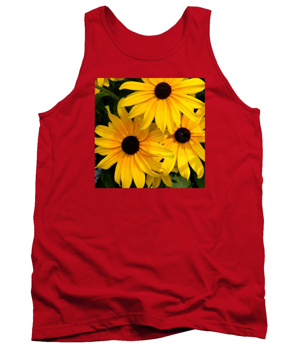 Flower Tank Top featuring the photograph Rudbeckia Flower by FL collection
