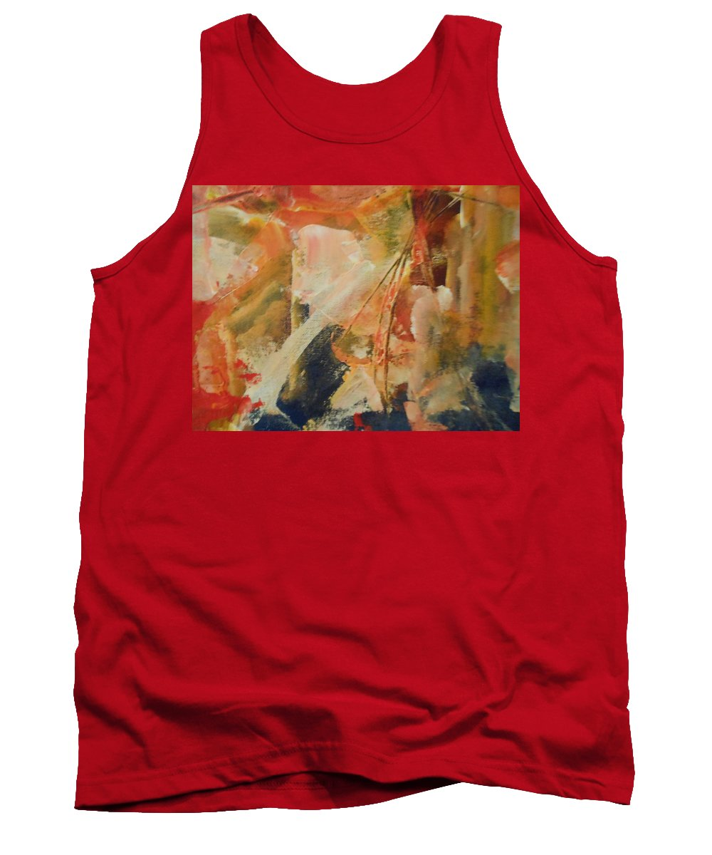 Abstract Tank Top featuring the painting Runner by Lord Frederick Lyle Morris