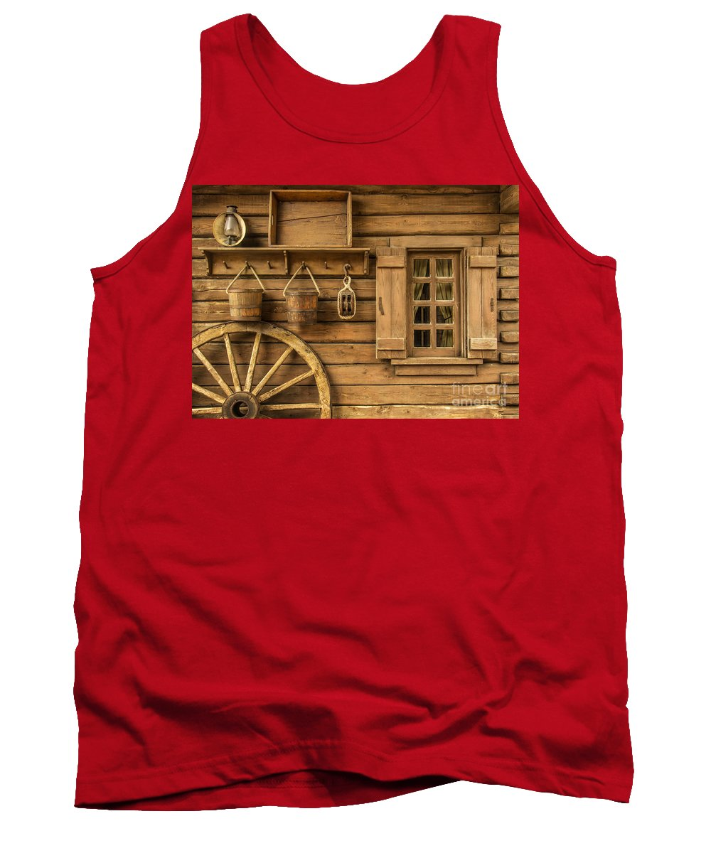 Rustic Tank Top featuring the photograph Rural Wertern by Carlos Caetano
