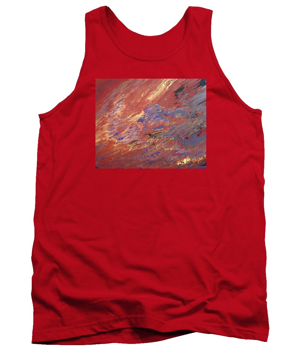 Fusionart Tank Top featuring the painting Sedona by Ralph White