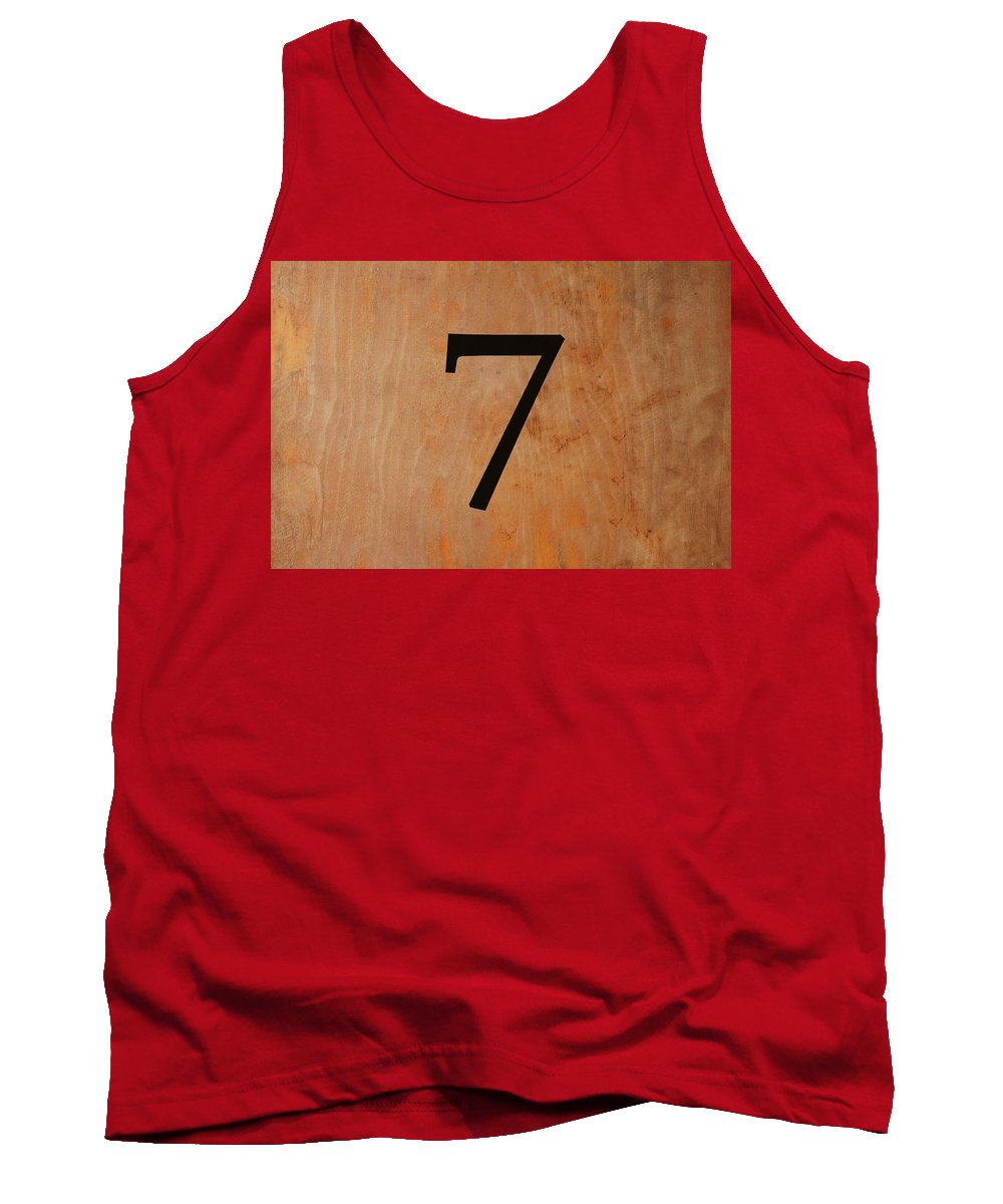 Seven Tank Top featuring the digital art Seven by Chastity Hoff