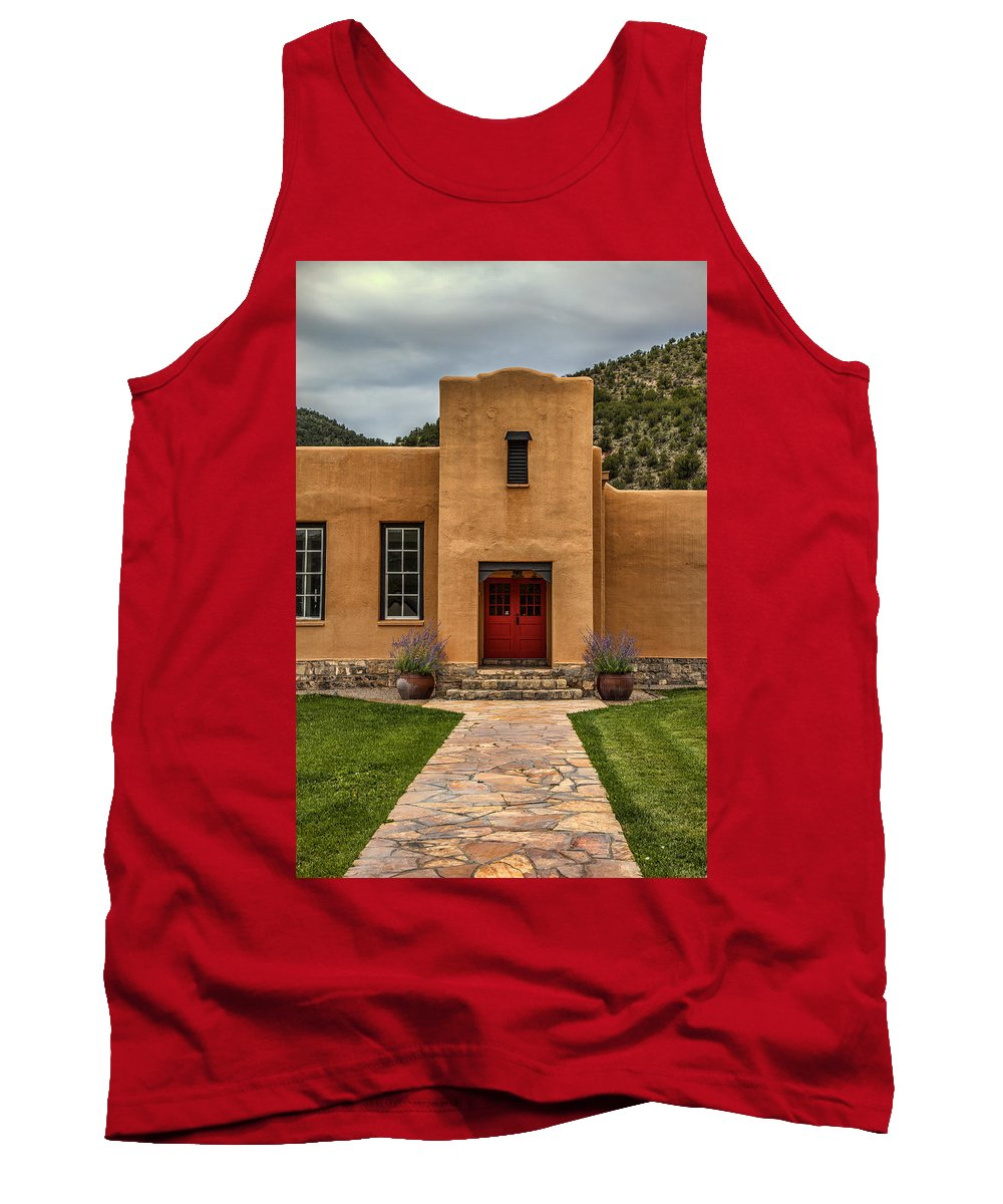 Adobe Tank Top featuring the photograph Southwest Style by Diana Powell