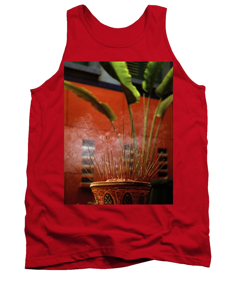 Asia Tank Top featuring the photograph Spirituality by Shaun Higson