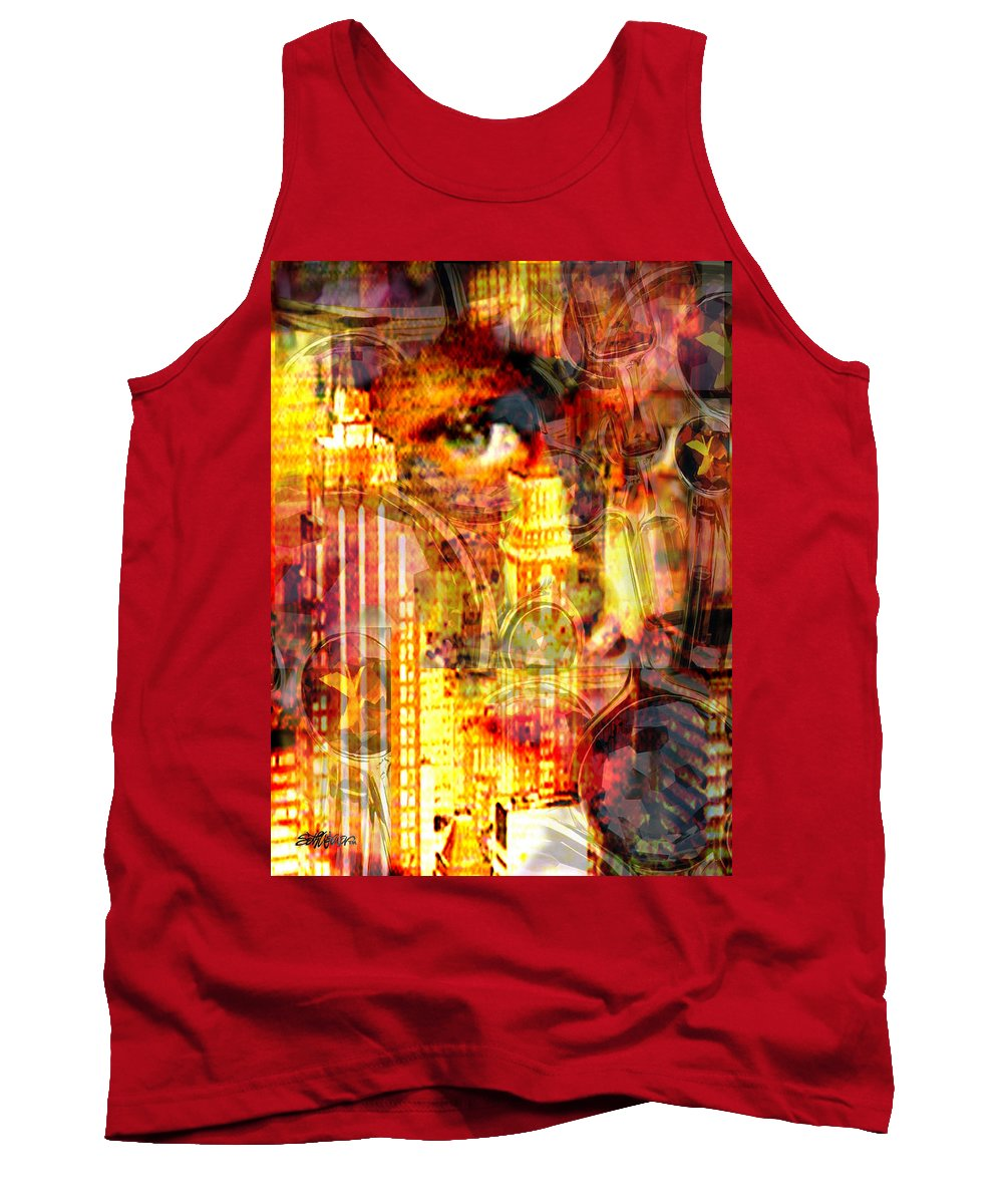 Big City Tank Top featuring the photograph Streetwalker by Seth Weaver