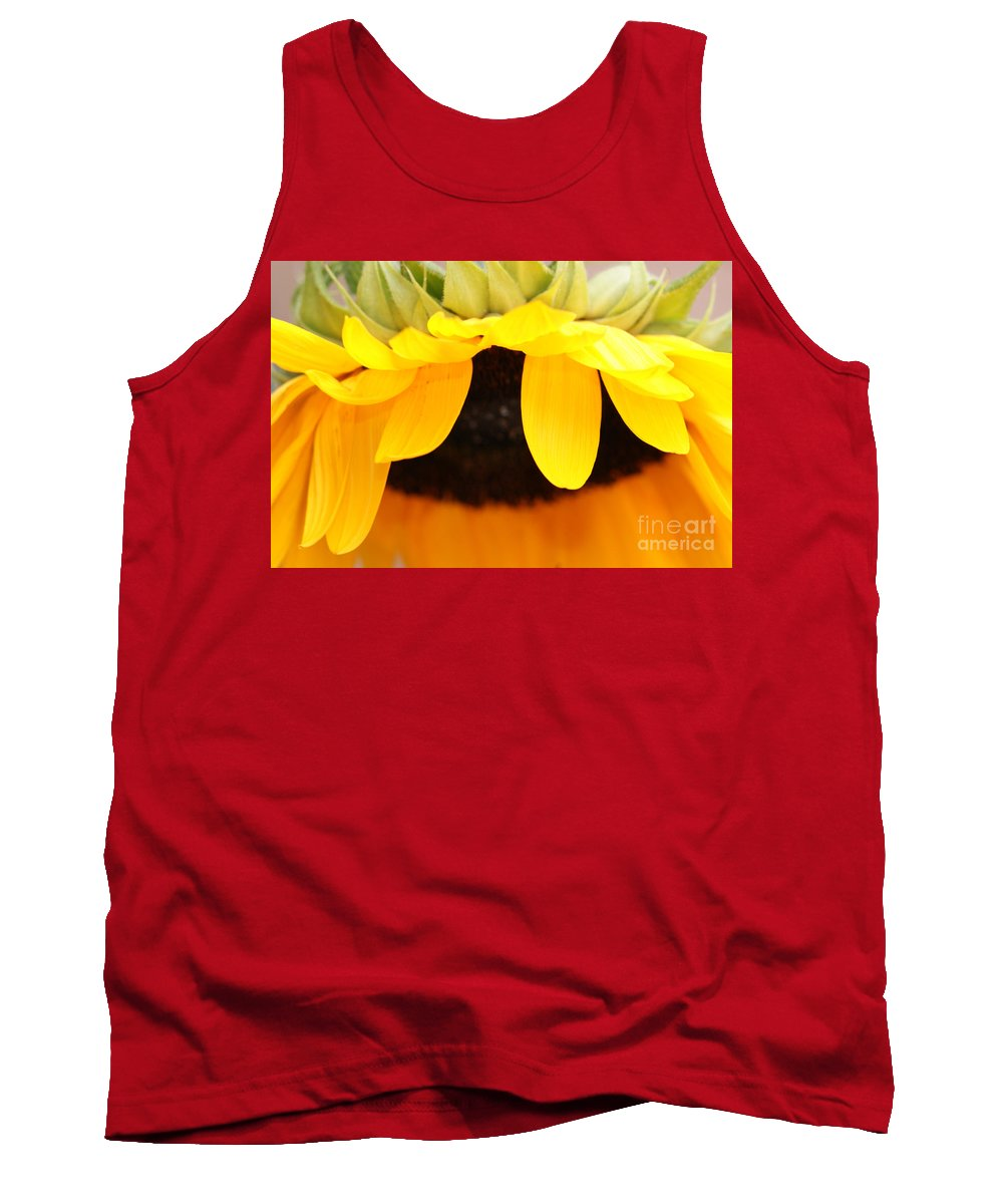 Sunflowers Tank Top featuring the photograph Sunflowers 3 by Carol Lynch