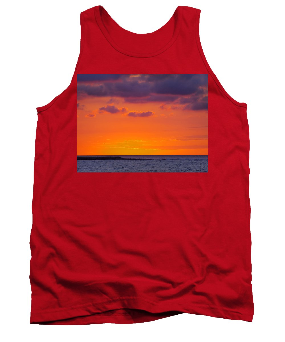 Africa Tank Top featuring the photograph Sunset In Casablanca by Karol Kozlowski