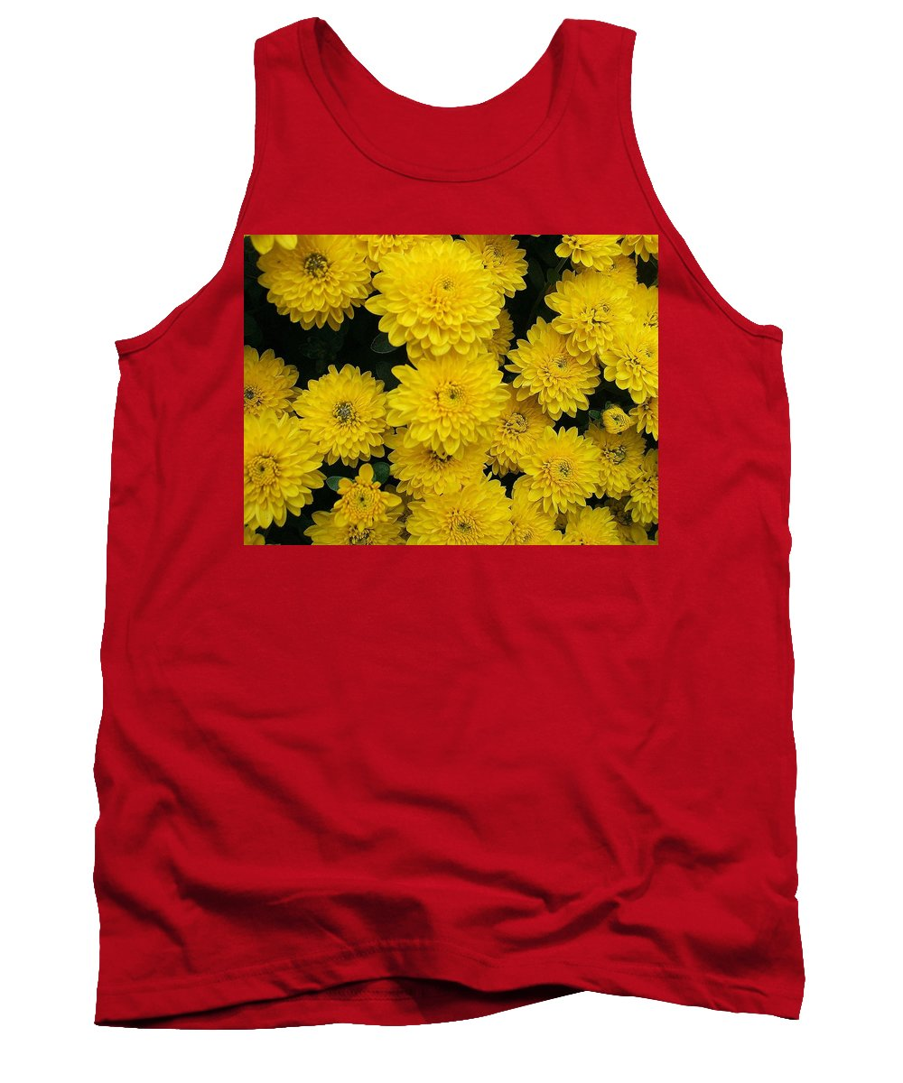 Floral Tank Top featuring the photograph Sunshine by Jo Dawkins