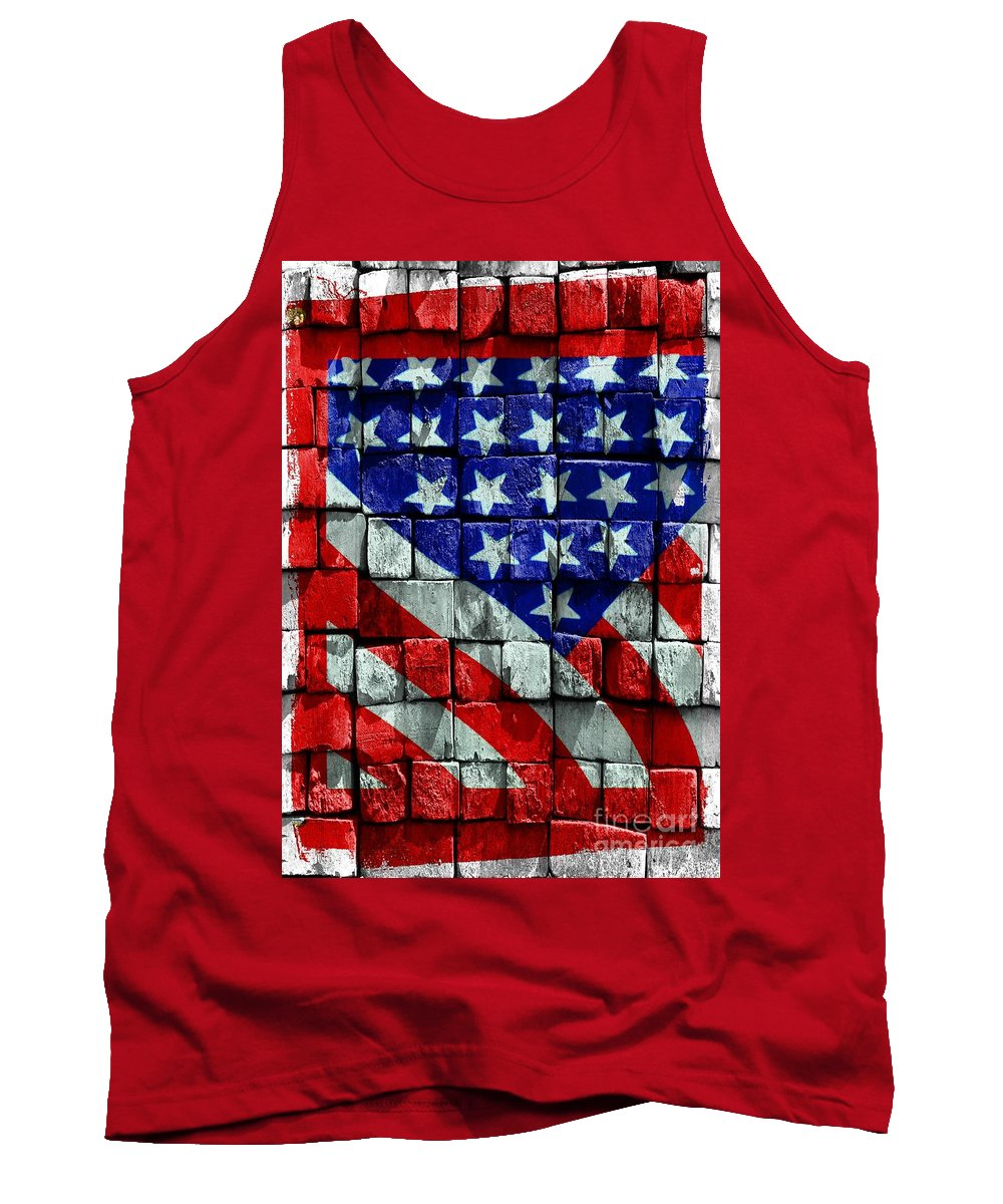 American Tank Top featuring the photograph Thank You With Gratitude by Kathleen Struckle