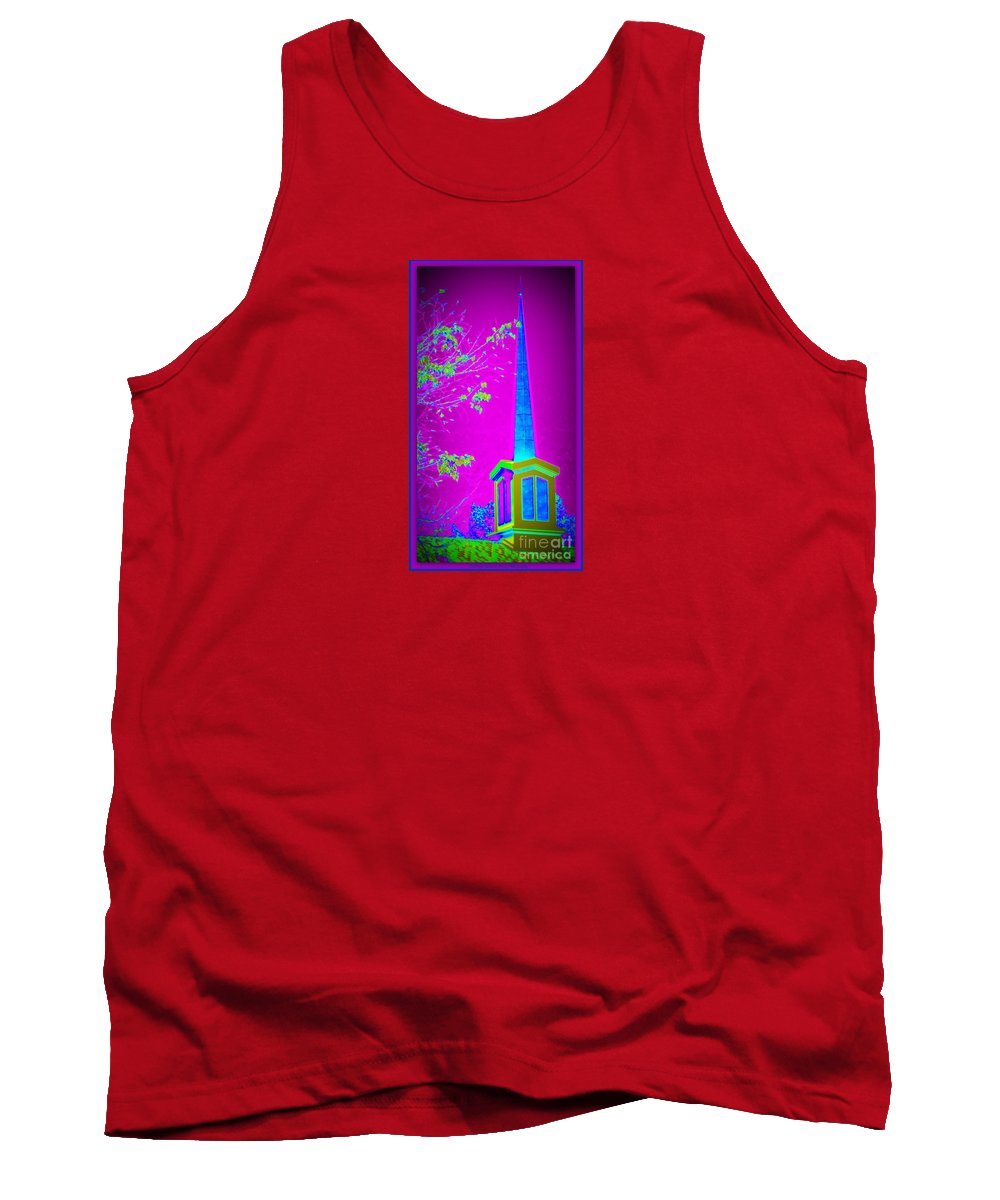 Acrylic Prints Tank Top featuring the photograph The Lights On by Bobbee Rickard