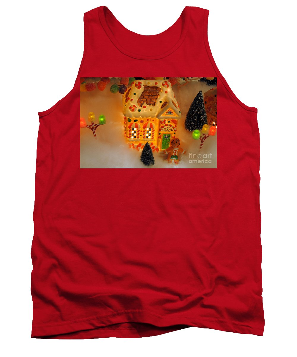Scenic Tours Tank Top featuring the photograph The Toy Store by Skip Willits