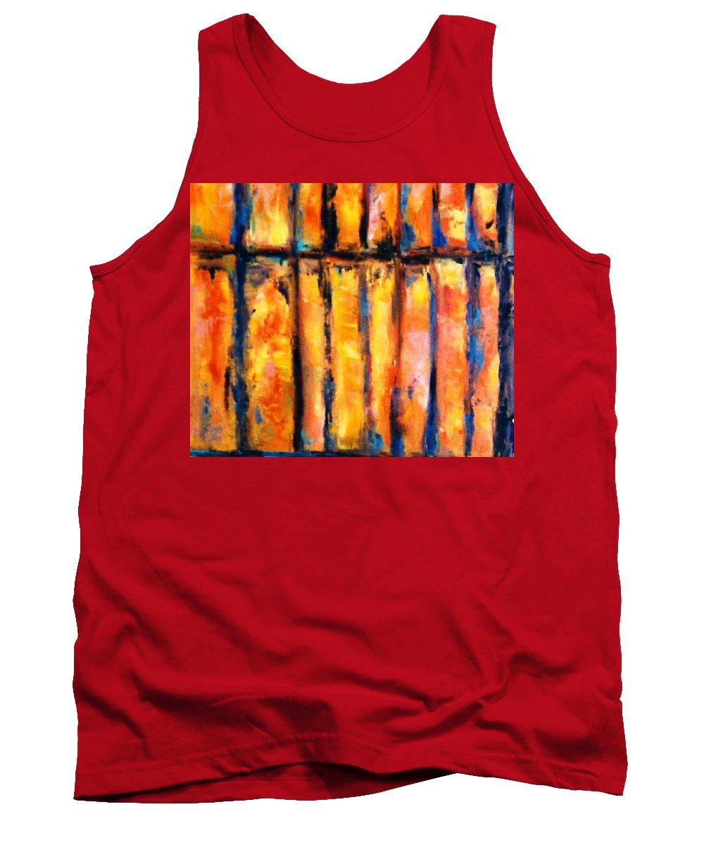 Lyle Tank Top featuring the painting The Waall by Lord Frederick Lyle Morris - Disabled Veteran