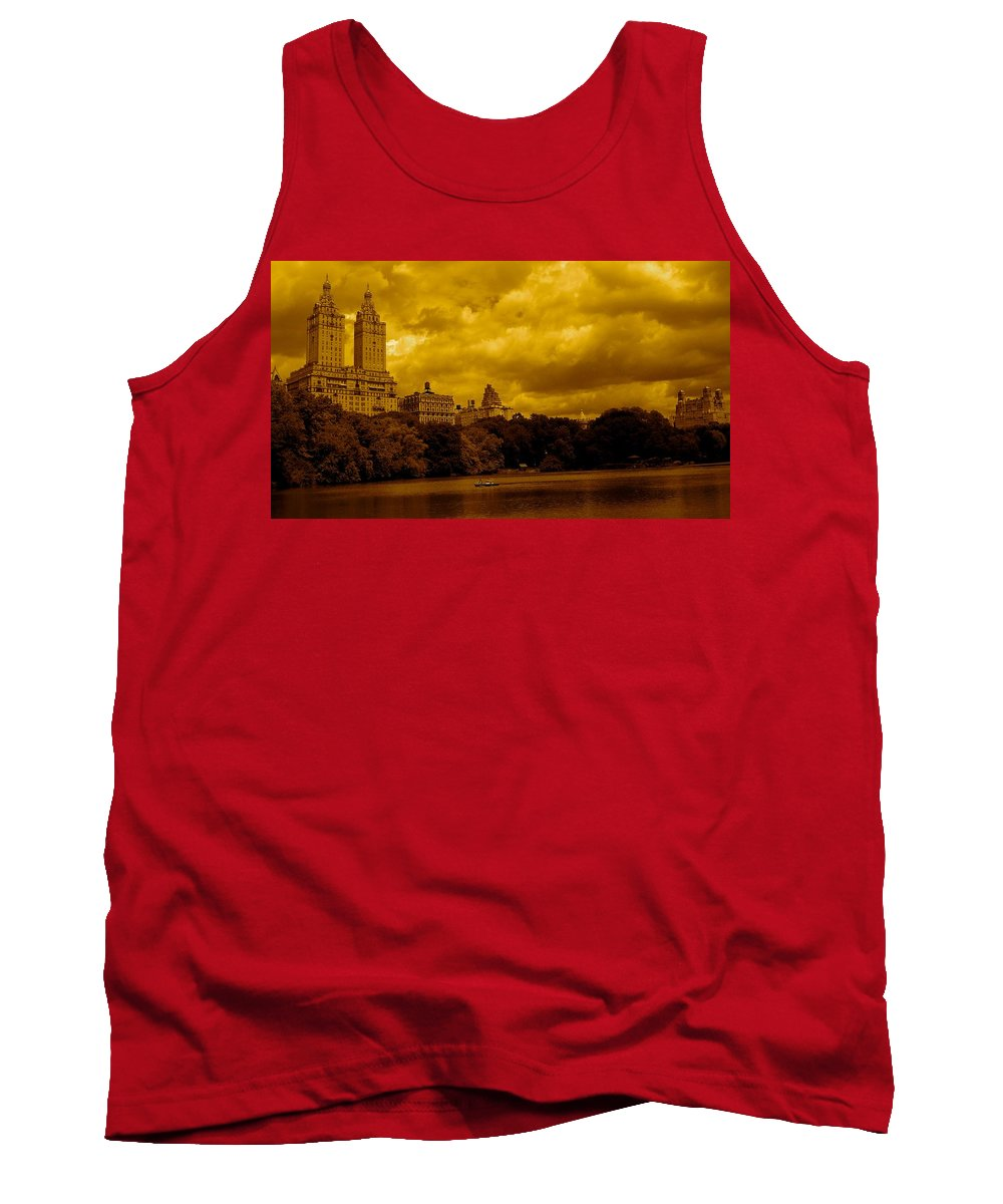 Iphone Cover Cases Tank Top featuring the photograph Upper West Side And Central Park by Monique's Fine Art