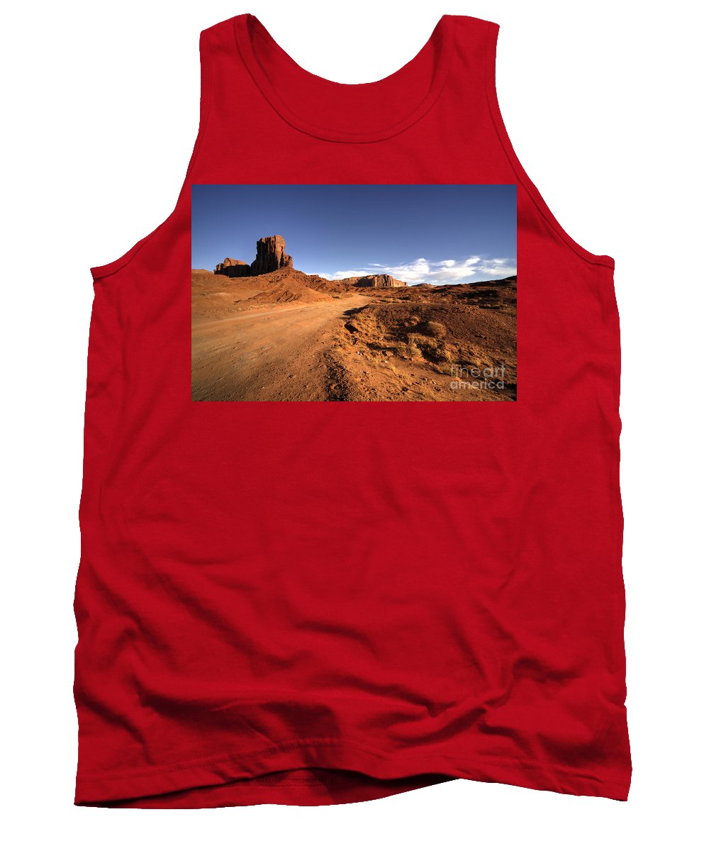 Monument Valley Tank Top featuring the photograph Valley Of Monuments by Rob Hawkins