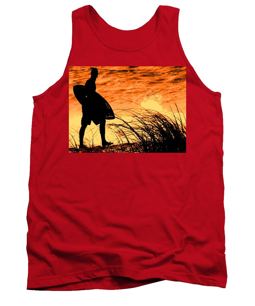 Florida Tank Top featuring the photograph Wave Search by Ian MacDonald