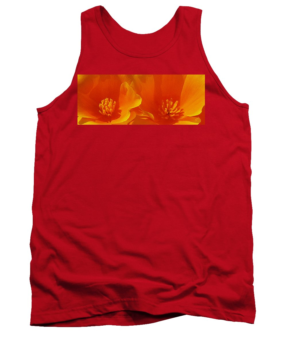 California Poppies Tank Top featuring the photograph Wild Poppies by Ben and Raisa Gertsberg