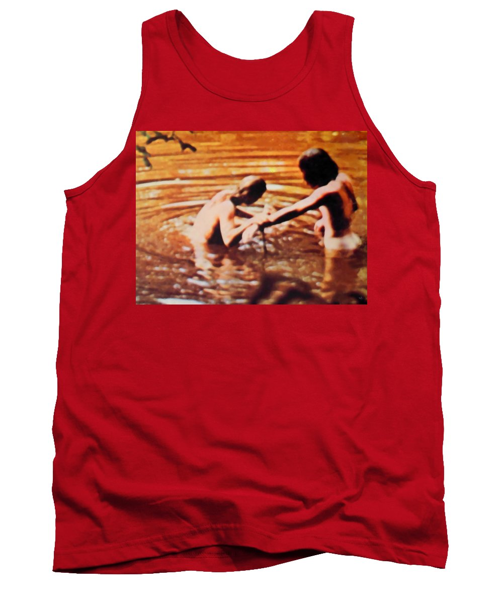 Woodstock Tank Top featuring the photograph Woodstock Cover 2 by Marcello Cicchini