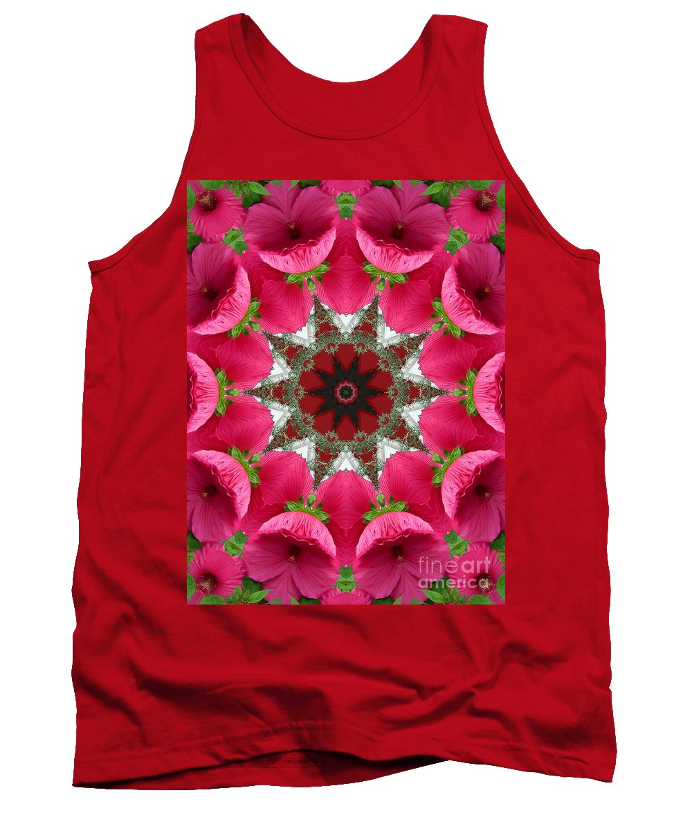 Digital Design Tank Top featuring the photograph Hibiscus by Mark Gilman