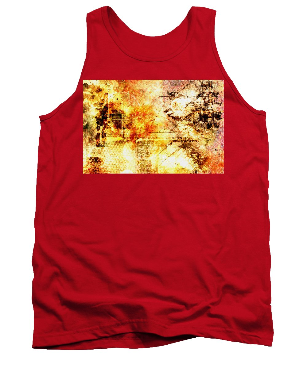 Wilderness Tank Top featuring the painting Wilderness by Christopher Gaston