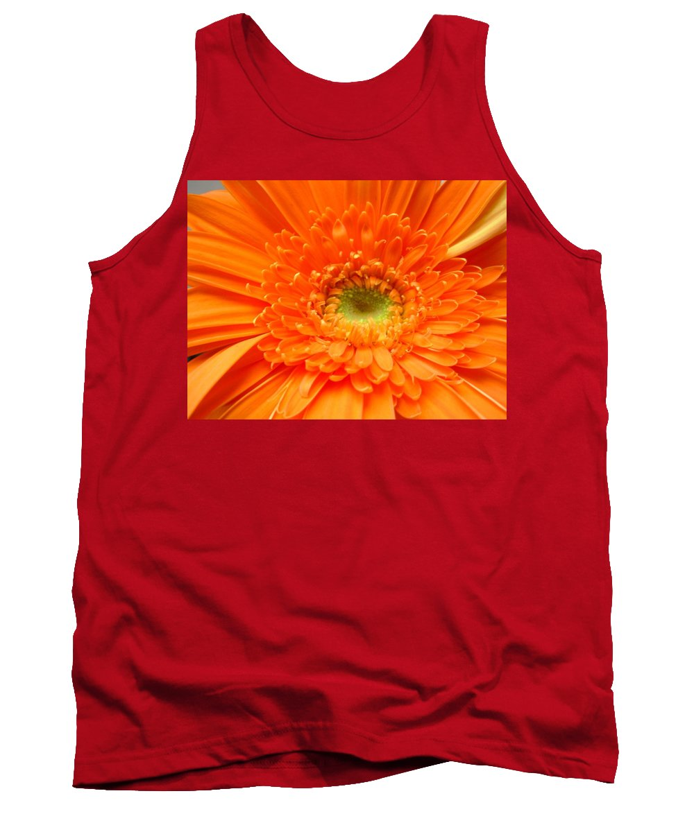 Gerbera Photographs Tank Top featuring the photograph 1627c by Kimberlie Gerner