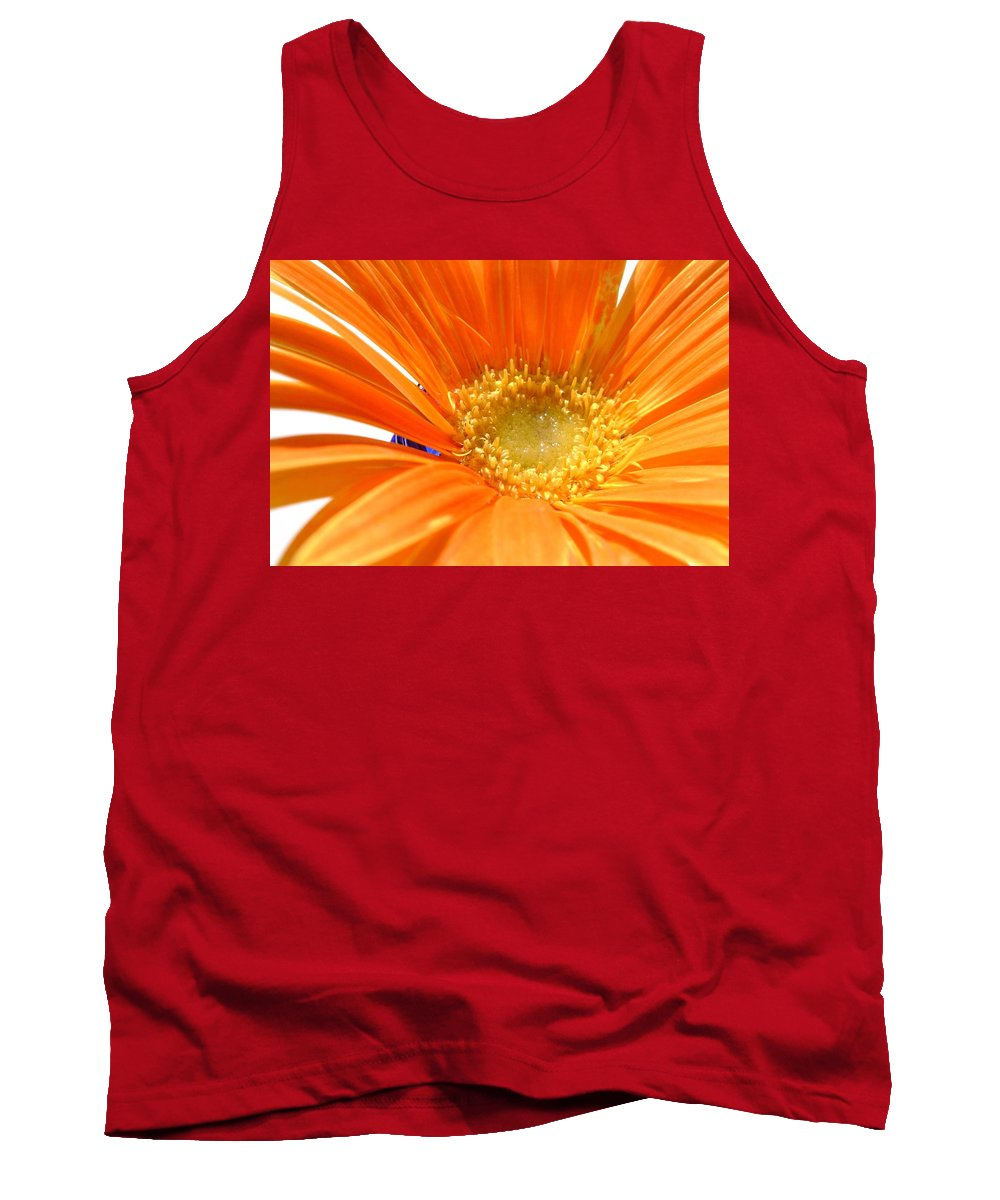 Gerbera Photographs Tank Top featuring the photograph 2106zc-005 by Kimberlie Gerner