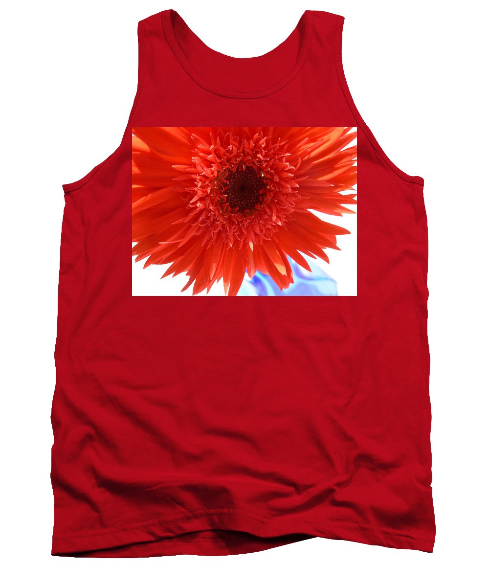 Gerbera Photographs Tank Top featuring the photograph 6282 by Kimberlie Gerner