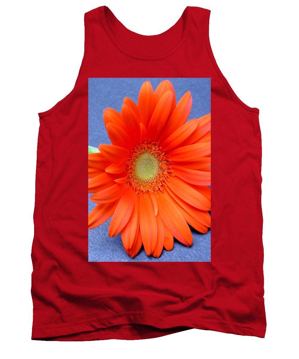 Gerbera Photographs Tank Top featuring the photograph 67441a by Kimberlie Gerner