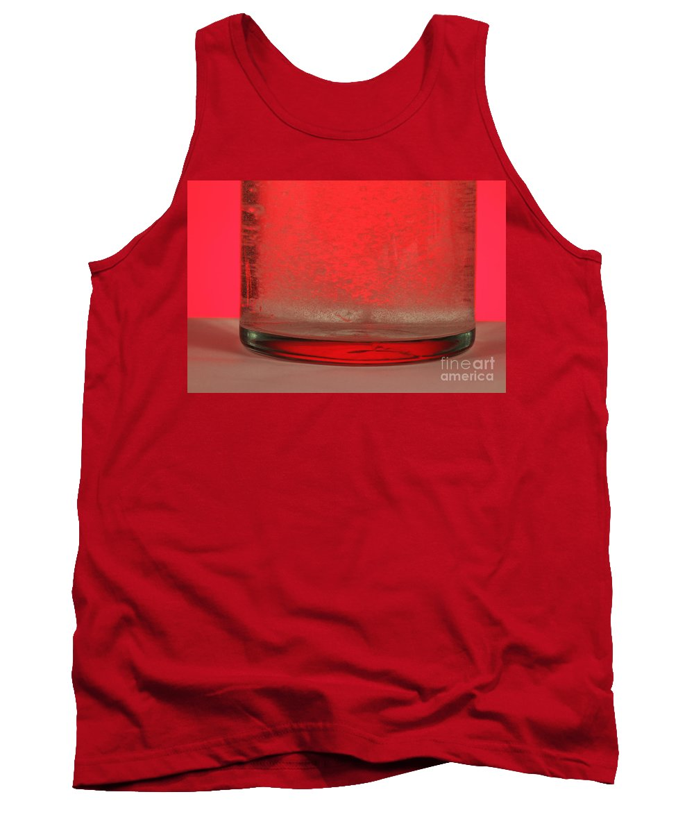 Medicine Tank Top featuring the photograph Alka-seltzer Dissolving In Water by Photo Researchers, Inc.