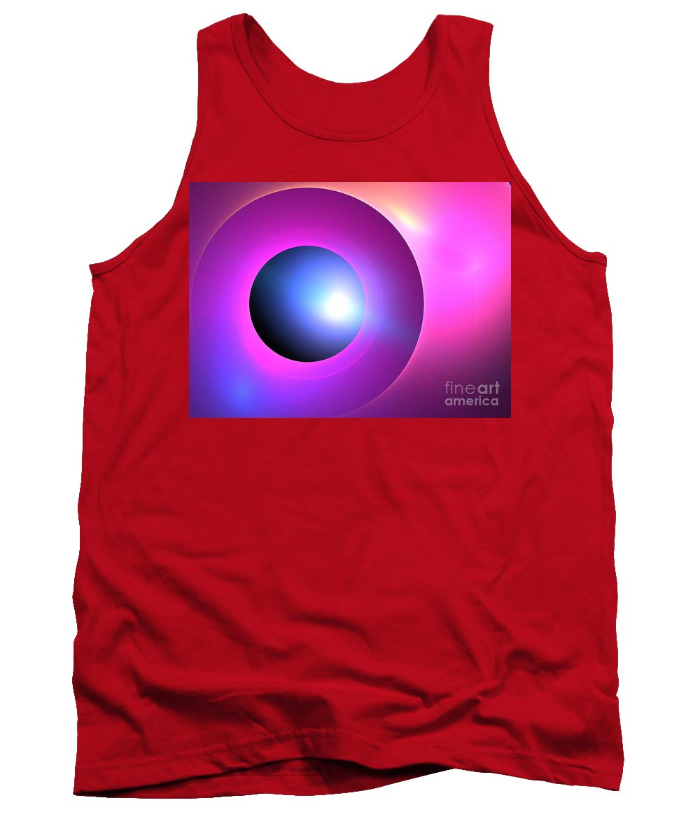 Apophysis Tank Top featuring the digital art Arcturus by Kim Sy Ok
