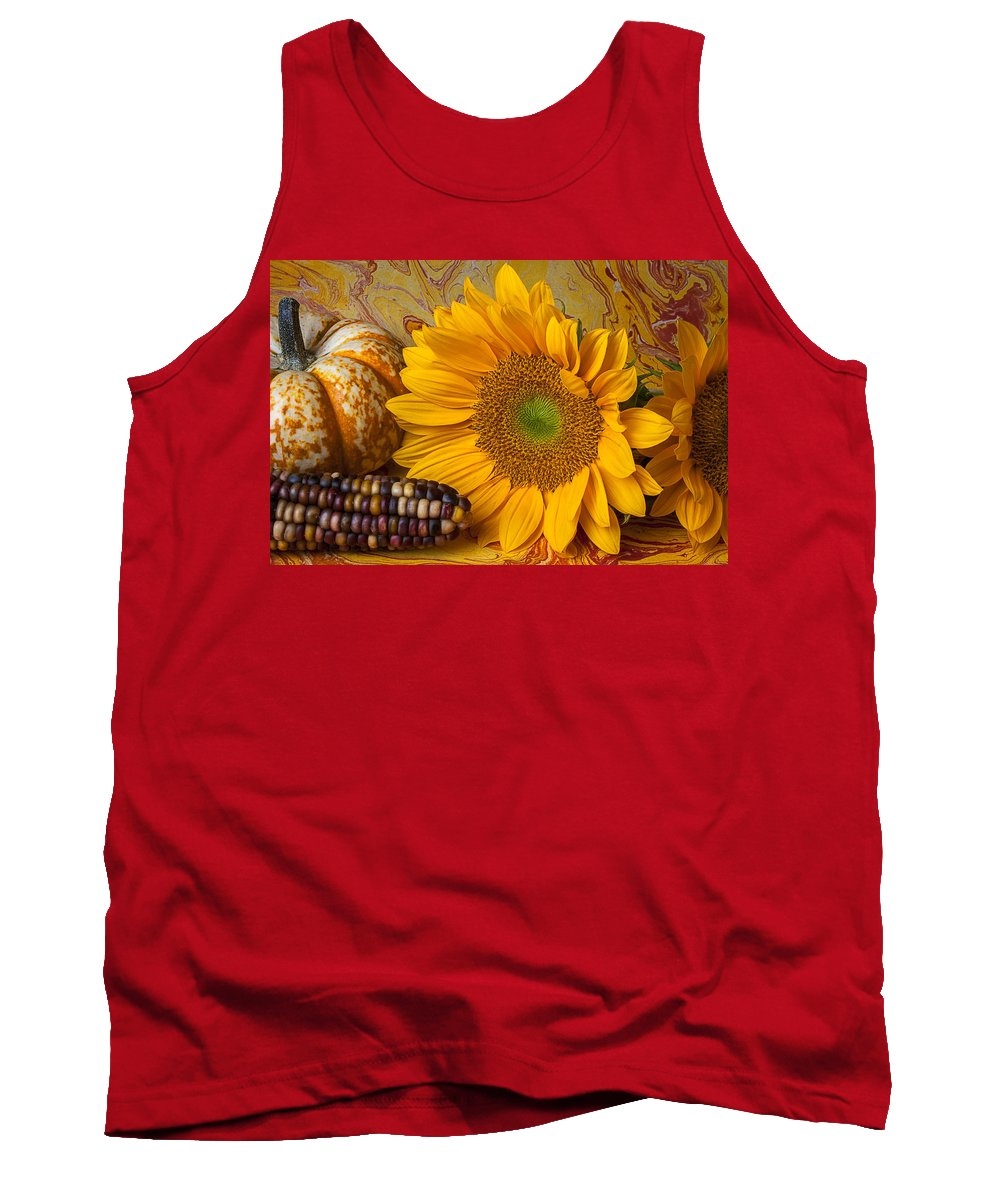 Autumn Tank Top featuring the photograph Autumn Still Life by Garry Gay