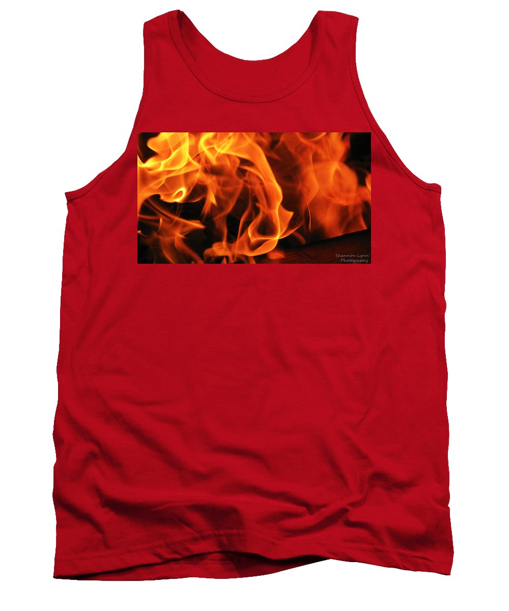 Fire Tank Top featuring the photograph Breath Of Fire by Shannon Nolting