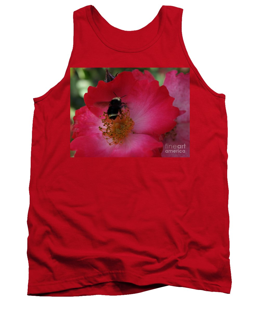 Bee Tank Top featuring the photograph Busy Afternoon by Jacklyn Duryea Fraizer