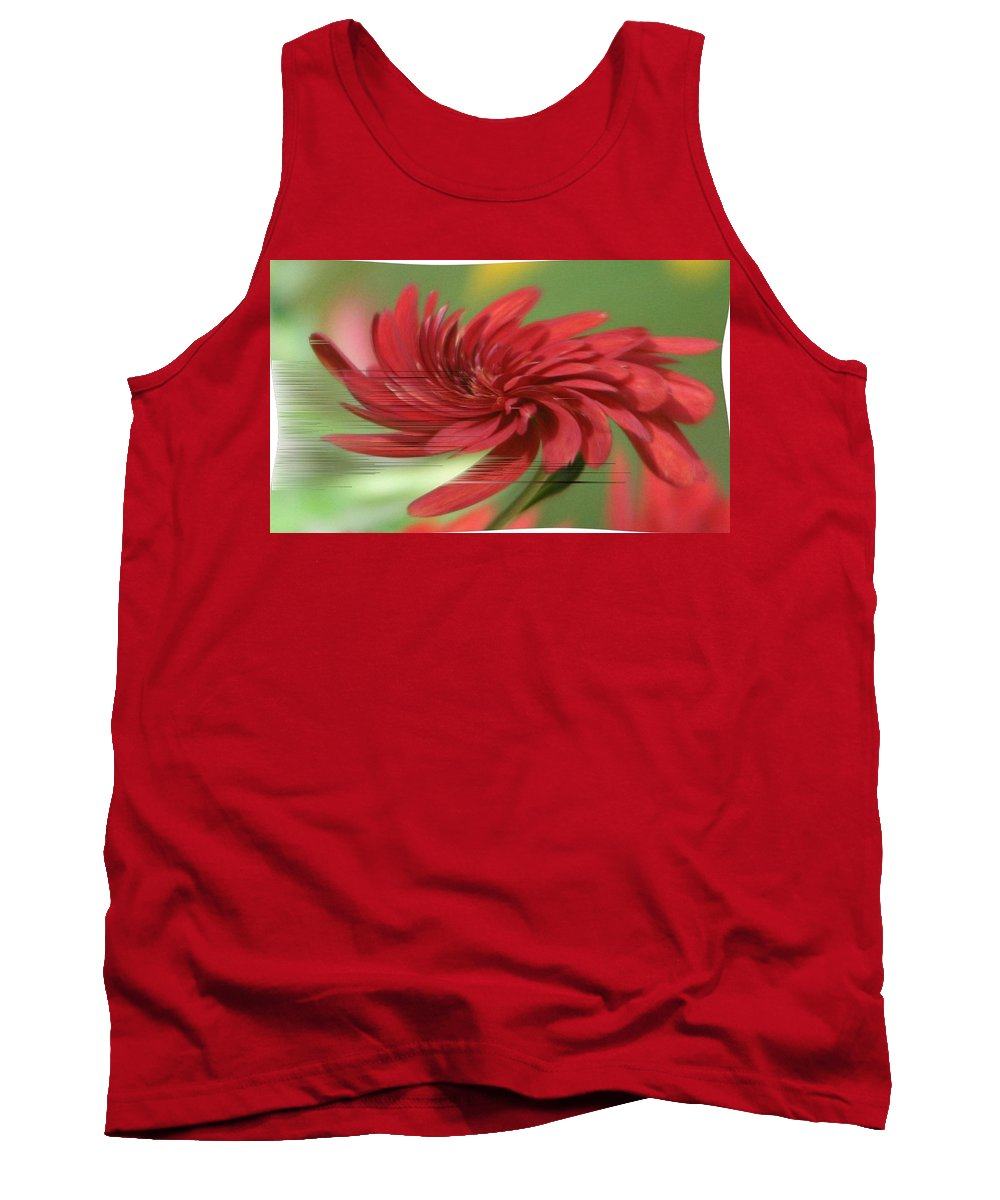 Category 5 Tank Top featuring the photograph Category 5 by Barbara S Nickerson